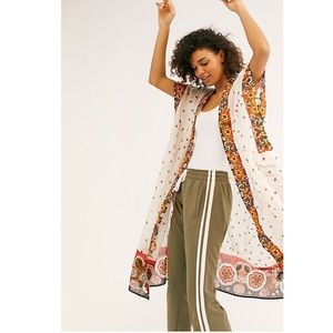 Free People Summer Mirage Kimono